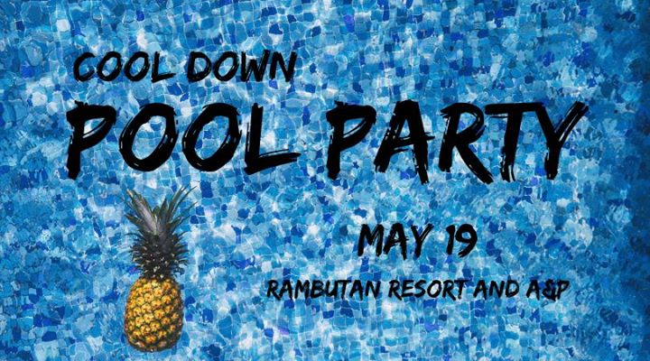 Cool Down Pool Party a Phnom Penh le dom 19 maggio 2019 15:00-19:00 (After-work Gay, Lesbica, Trans, Bi)