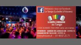 Le Bal de la Boîte à Frissons à Paris le sam. 22 avril 2017 de 22h30 à 05h00 (Clubbing Gay, Lesbienne)