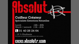 Absolut'Hair - Hair dressing, beauty / Gay Friendly - Paris