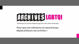 Archives LGBTQI - Culture and Leisure / Gay, Lesbian, Trans, Bi - Paris
