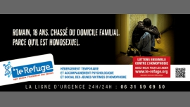 Le Refuge Paris - Fight against homophobia, Youth and Students / Gay, Lesbian - Paris