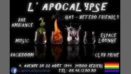 L'Apocalypse - Bar/Gay, Hétéro Friendly - Béziers