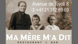 Ma mère m'a dit - Restaurant/Gay, Lesbienne - Lausanne