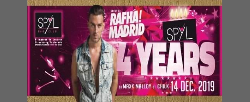 Rafha Madrid - 4 years of SPYL