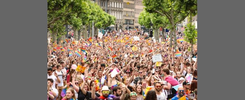 Marche des Visibilités LGBTI - Strasbourg - 2020