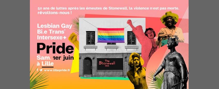24ème lgbti+ Pride Lille sam 1er juin 2019 - Page officielle