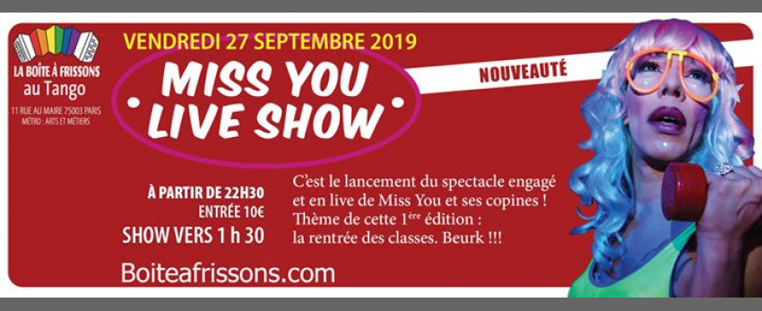Miss You Live Show - Episode 1