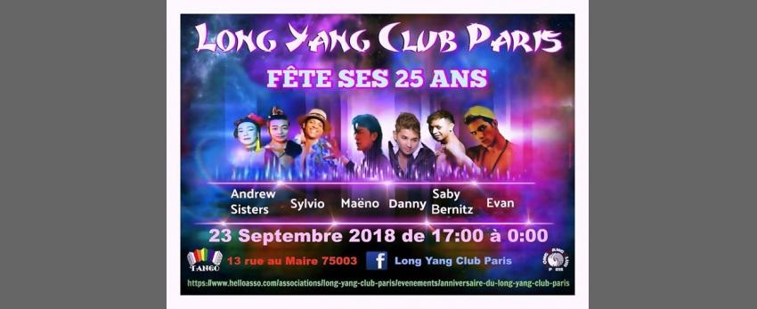 Long Yang Club Paris fête ses 25 ans