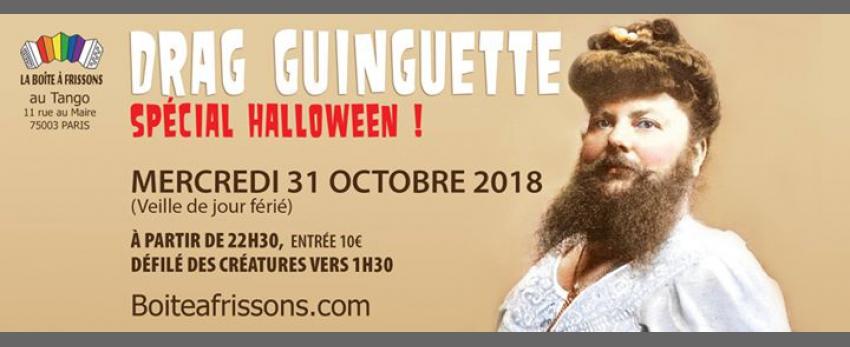 Drag Guinguette spéciale Halloween !