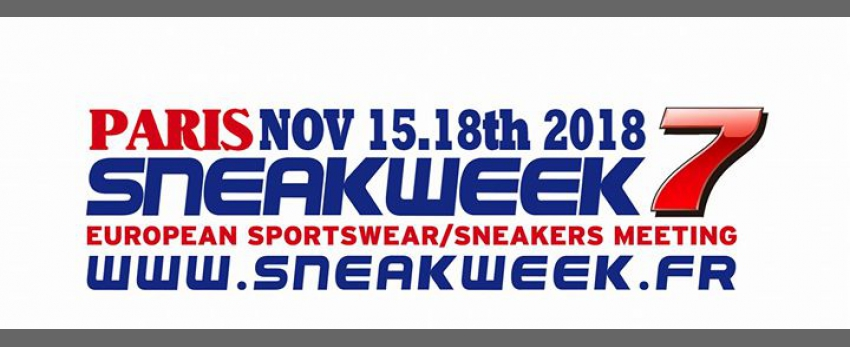 Sneakweek 7 Meeting European Sportswear