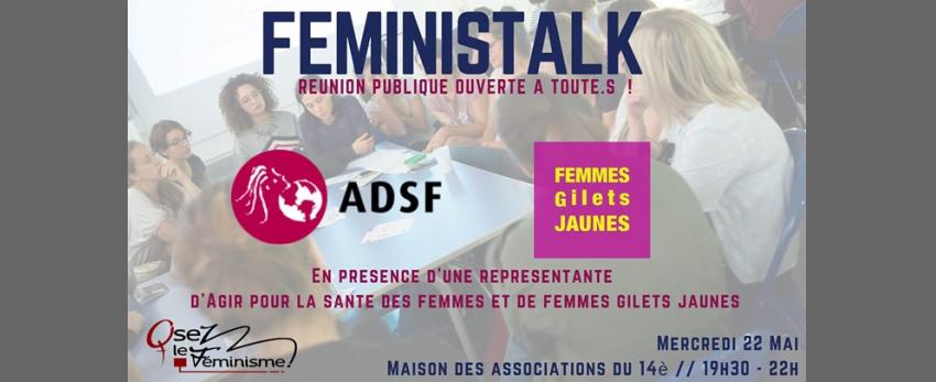 Féministalk : Pauvreté et précarité des femmes