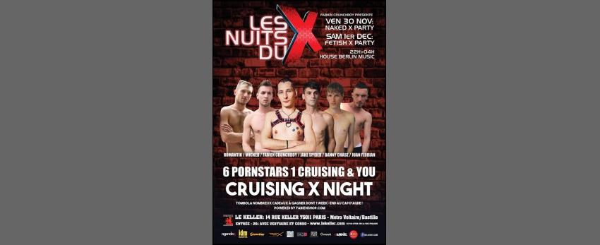 LES NUITS DU X par F. Crunchboy