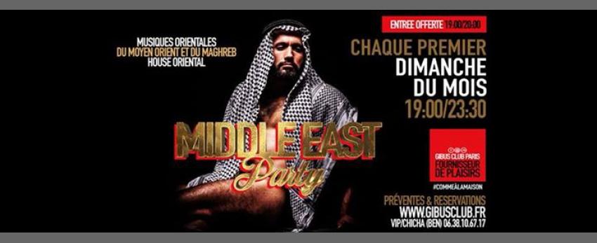 Middle East Party (veille de fête !)