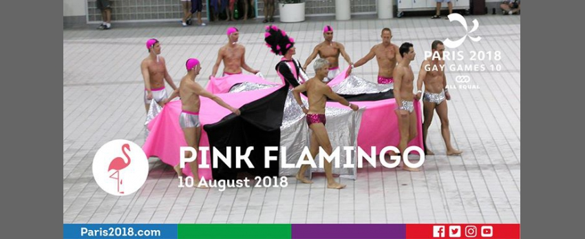 Gay Games 10 - Pink Flamingo