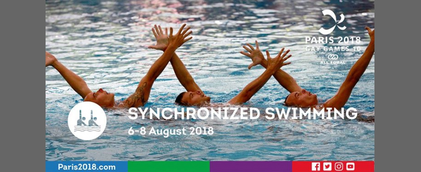 Gay Games 10 - Synchronized swimming