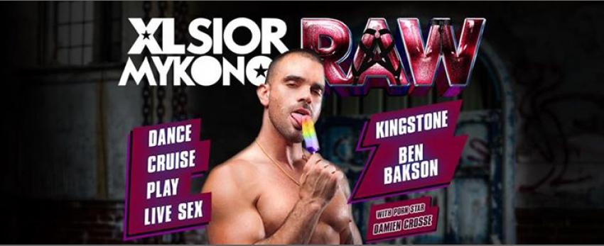 XLSIOR RAW - Live X by Damien Crosse & Jean Franko @Gibus