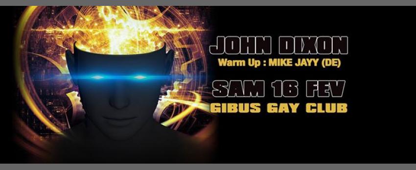 JOHN DIXON au GIBUS