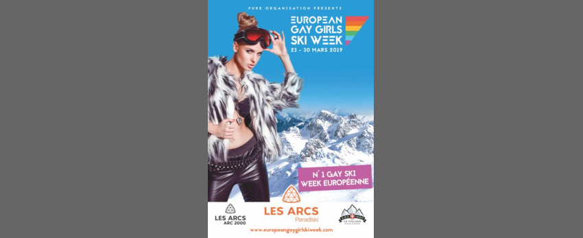 European Gay Girls Ski Week 2019 / Les Arcs