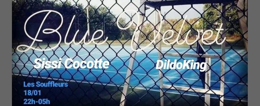 Blue Vulvet #2 ★ Sissi Cocotte invite Dildoking