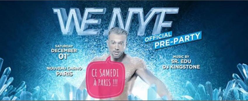 We Party Paris • New Year Festival Pre-party