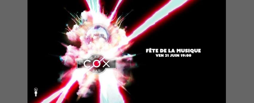 Le COX fête la musique ! 21 juin 19