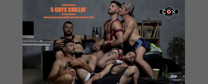 "Lancement "" 5 guys Chillin' ""de Peter Darney"
