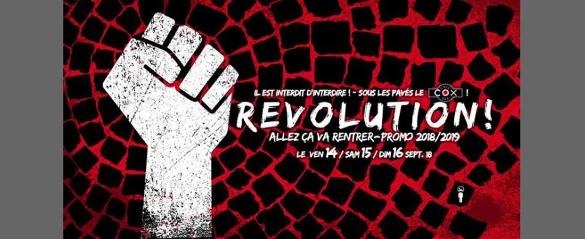 Revolution ! Allez ça va rentrer Promo 2018 / 2019