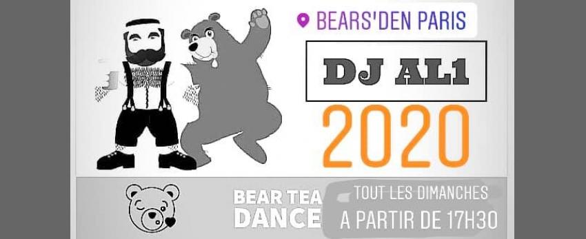 DJ al1 au bears' den pour la Bear Tea Dance
