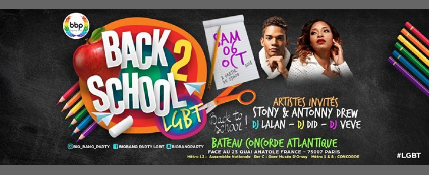 BBP Back To School LGBT (Stony & Antonny Drew)