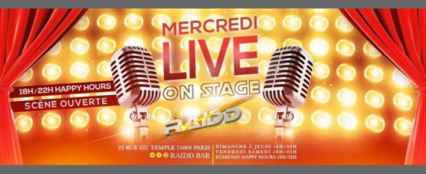 Mercredi Live On Stage
