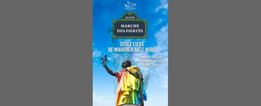 Marche des Fiertés Paris - Gay pride 2019