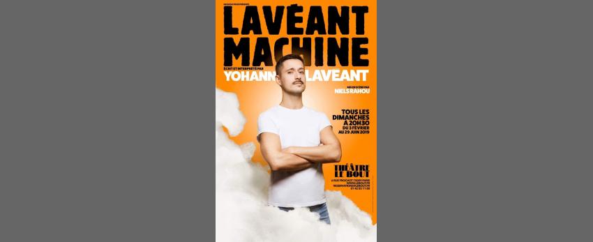 Yohann Lavéant dans Lavéant Machine