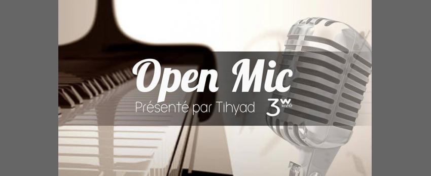 L'open Mic' du 3w - Scène Ouverte