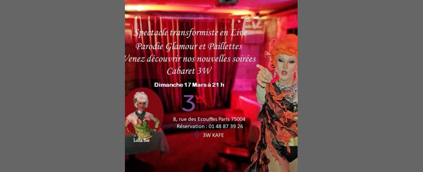 Soiree cabaret a 3W Kafé