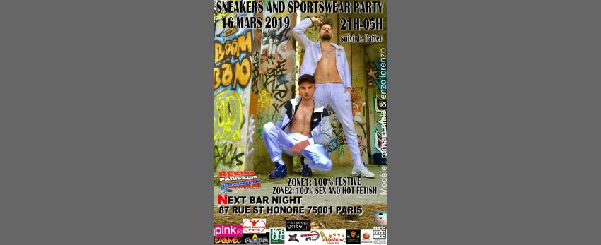 Sneakers and sportswear party rekins paris club