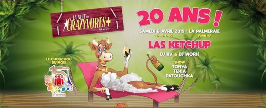 La Nuit des Crazyvores + 20 Ans !