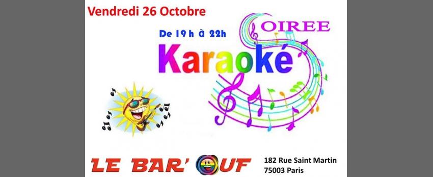 Le Bar'Ouf : Soiree Karaoke