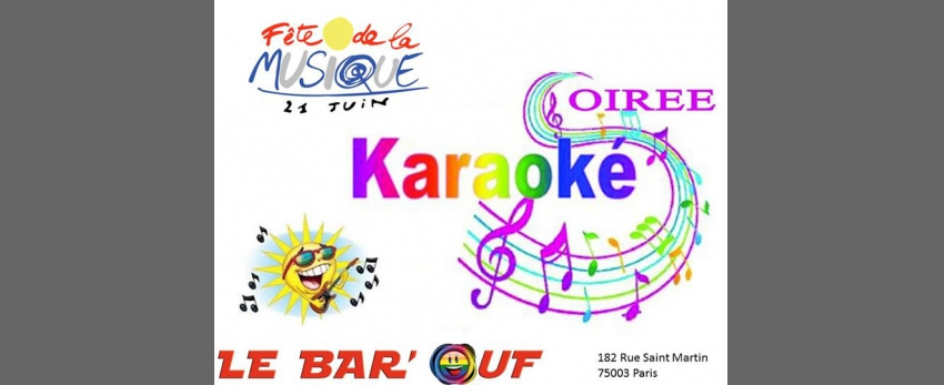 Fete de la musique : Karaoké