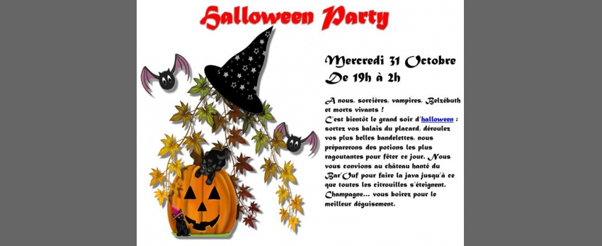 Le Bar'Ouf : Halloween Party