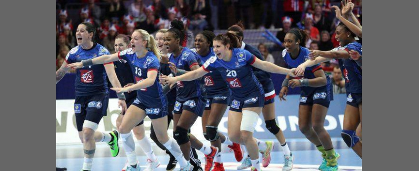 Le Bar'Ouf Euro Feminin Handball France - Suede