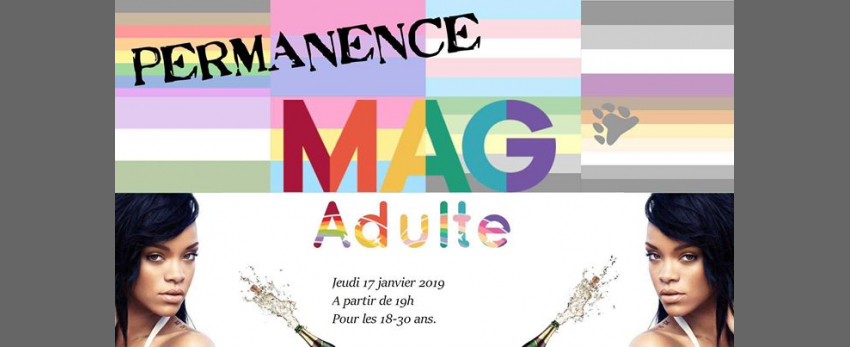 Soirée MAGadulte #14 (18-30 ans)