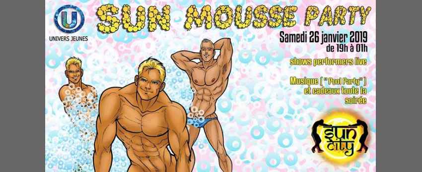 ◣ Sun Mousse Party ◥ Univers Jeunes n° 333