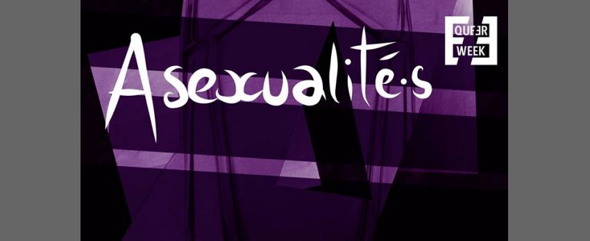 Asexualité.s : Conférence, écoute de podcast & discussion