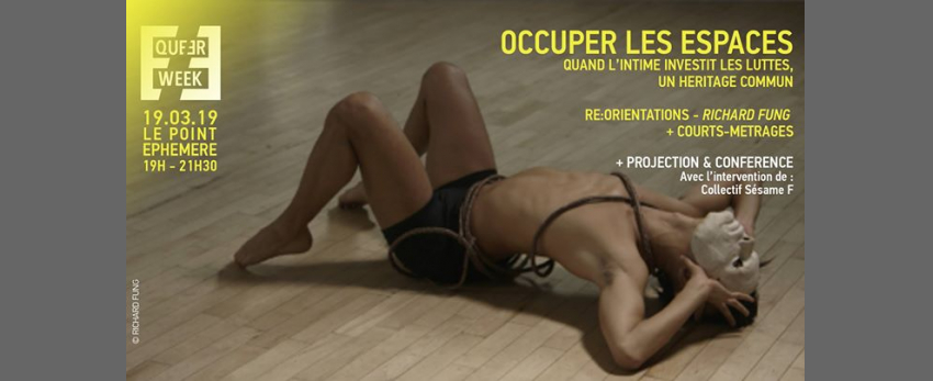"Occuper les espaces : ""Re:Orientations"" • projection/ discussion"