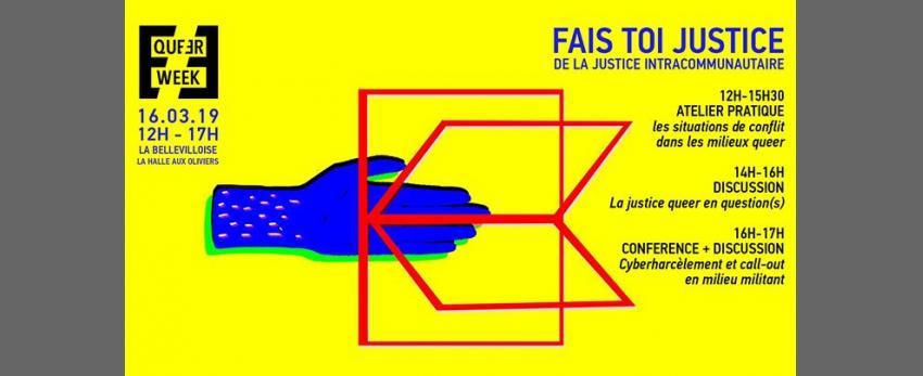 Journée Fais-toi justice : de la justice intracommunautaire