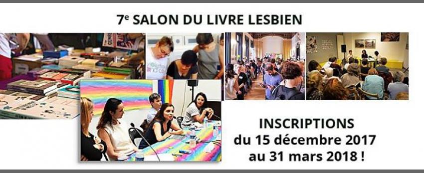 Inscriptions au 7e Salon du Livre Lesbien