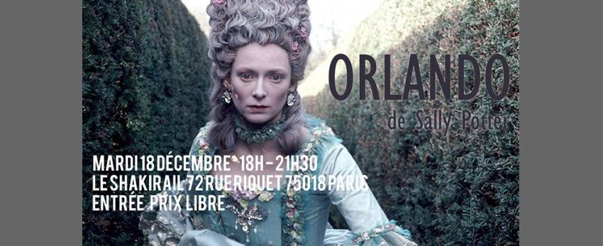 Projection d'Orlando de Sally Potter