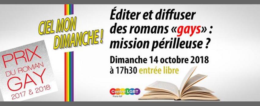 """Editer et diffuser des romans """"gays"""" : mission périlleuse ?"""