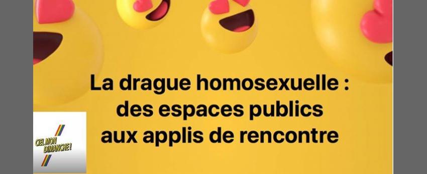 Drague homosexuelle: des espaces publics aux applis de rencontre
