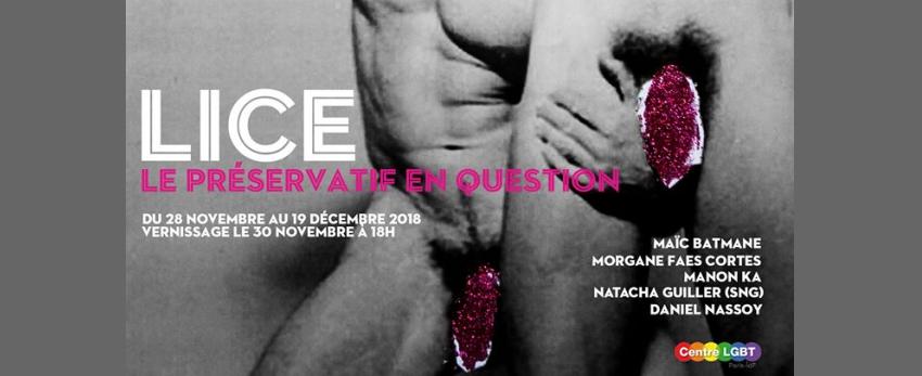 Exposition - Lice, le préservatif en question